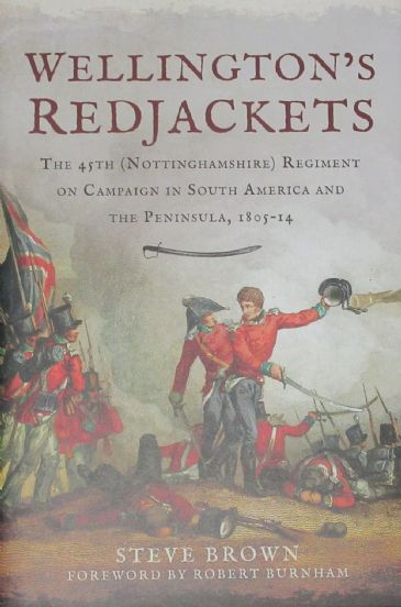 Wellington's Redjackets, by Steve Brown